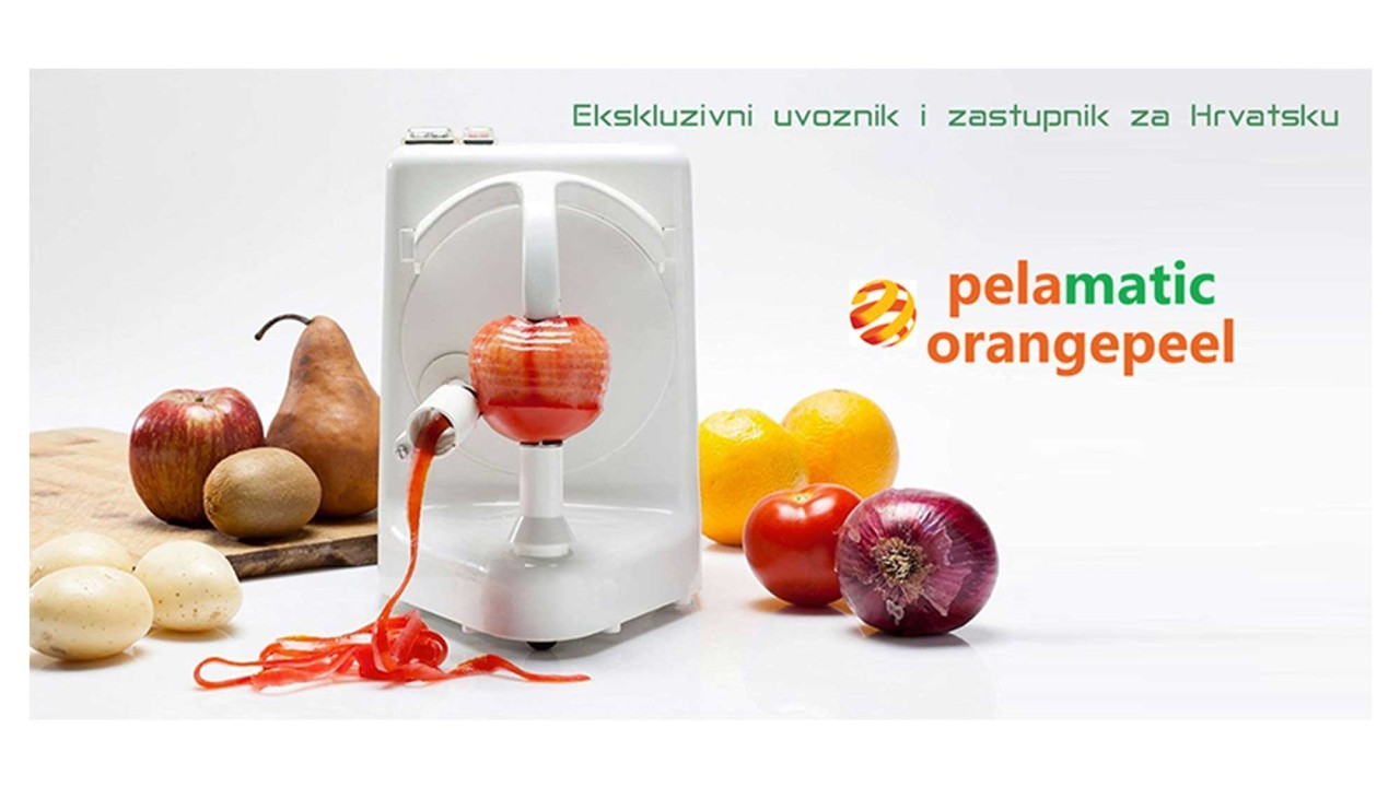 Ekskluzivni zastupnik za RH-Pelamatic električne gulilice za voće i povrće