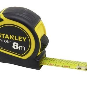 AKCIJA STANLEY TYLON GUMENI RUČNI METAR, 25 mm, osam 8 metara, NA DISPLAYU 12 kom 1-30-657
