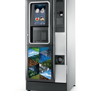 NECTA CONCERTO TOUCH NA DODIR samoposlužni aparat velikog kapaciteta kava espresso,čaj i instant napici na novac