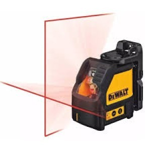 DEWALT križni laserski nivelir DW088K-XJ KRIŽNI LASER SA ZIDNIM NOSAČEM U KOFERU