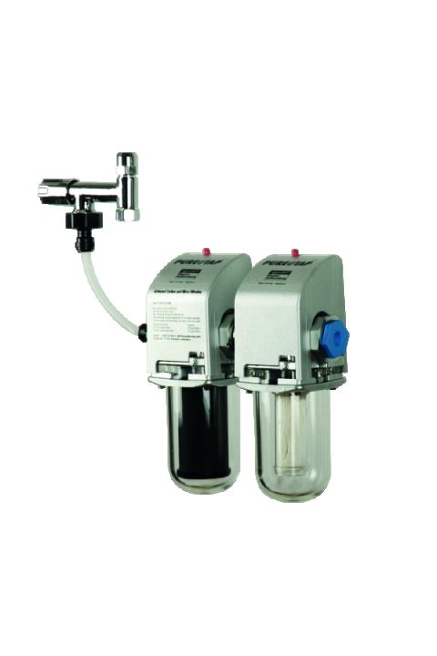 JUDO PURE @ TAP AKTIVNI UGLJEN I MIKROFILTRACIJA  (antibakterijski) filter za ispod sudopera za vodu za piće JUDO PURE@TAP Untertischwasserfilter