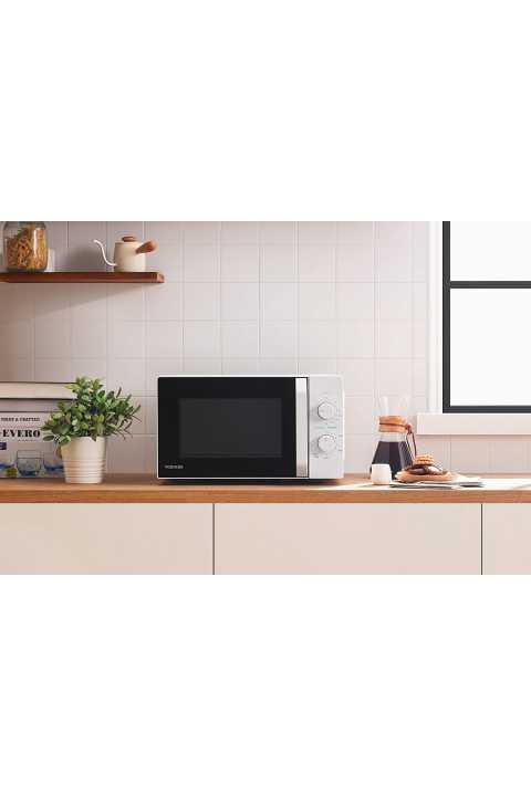 Akcija Toshiba mikrovalna pećnica 20L, 800w, grill BIJELA MW2-MG20P(WH)