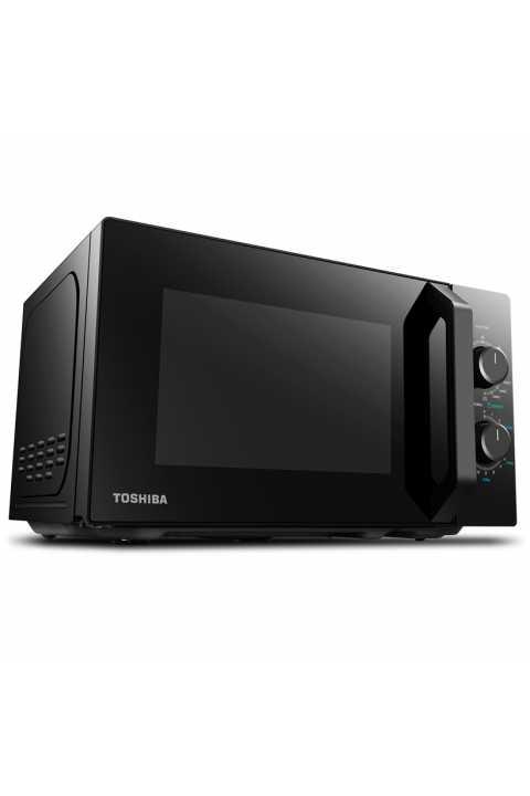 Akcija  Toshiba mikrovalna pećnica 20L, 800w, grill crna MW2-MG20P(BK) + POKLON NANO PAD