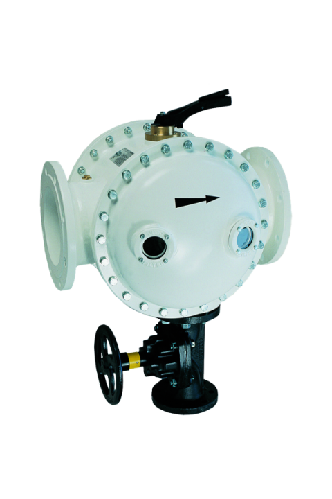 Bespovratni zaštitni filtar za vodu sa ispiranjem JUDO JRSF DN 125 - 200 Rückspül-Schutzfilter