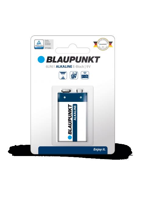 Blaupunkt alkalna 6LR61 baterija 6LR61 9 V 1 kom
