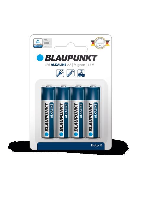 Blaupunkt alkalna AA baterija LR 6 1.5 V set 4 komada