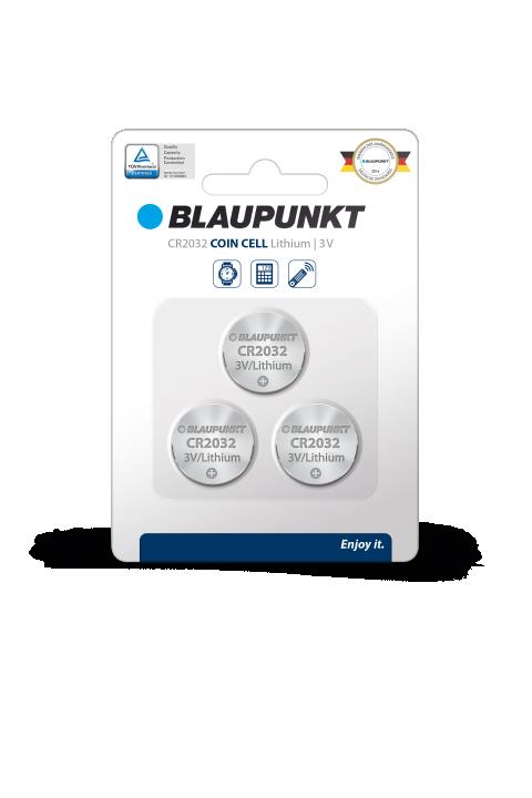 Blaupunkt litium baterija CR 2032 set 3 komada