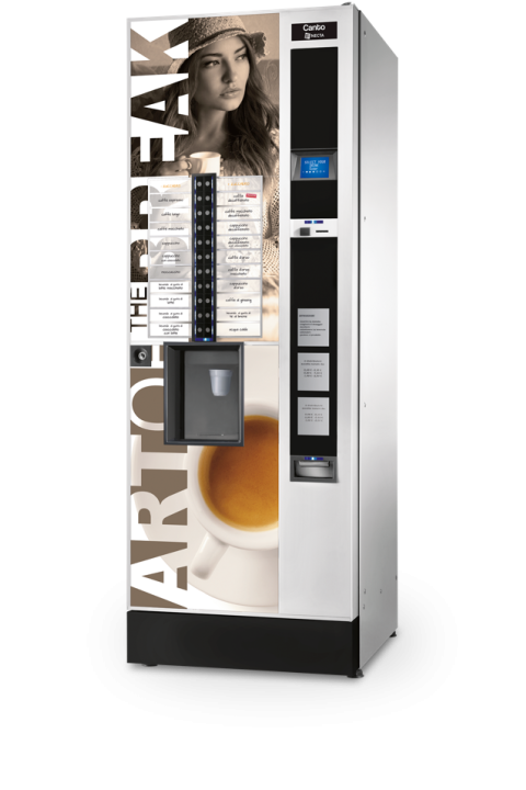 NECTA CANTO samoposlužni aparat velikog kapaciteta kava espresso,čaj i instant napici