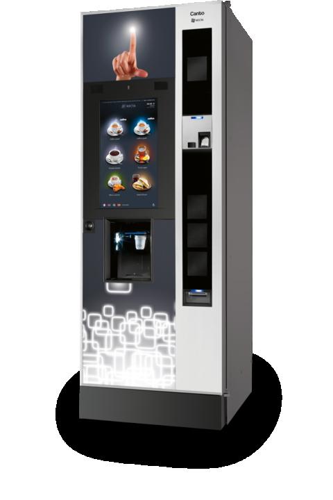 CANTO TOUCH NA DODIR EKRANA  samoposlužni aparat velikog kapaciteta kava espresso,čaj i instant napici
