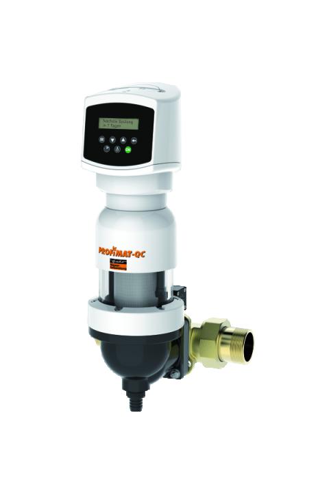 """JUDO automatski zaštitni filtar za vodu sa ispiranjem sa regulacijom diferencijelnog tlaka PROFIMAT-QUICK CONTROL JPF-QC-ATP 1½ """"- 2"""" Automatik-Rückspül-Schutzfilter"""