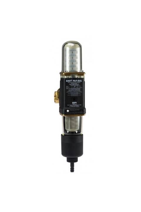 Razbijač kamenca u vodi 2 u 1 = filter za ispiranje i stanica za sprečavanje nakupina kamenca JUDO EASY FILT BAL   8215010