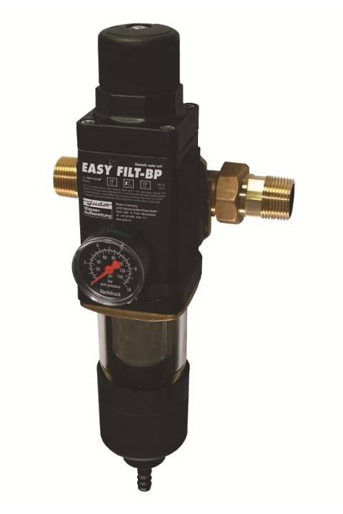 """FILTER ZA VODU 2 u 1 = stanica za filtriranje vode i regulacija izlaznog tlaka vode JUDO EASY FILT -BP 3/4"""" 8171010"""