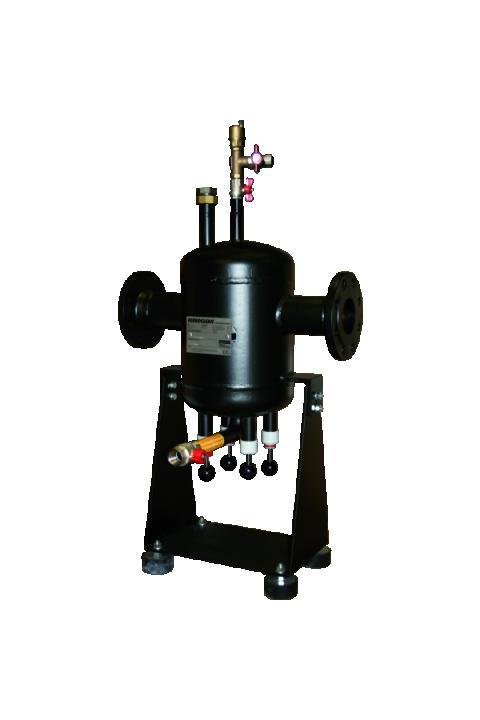 JUDO FERROCLEAN JFS DN 65 - 200 Separator mulja s sustavom odzračivanja JUDO FERROCLEAN JFS DN 65 - 200 Schlammabscheider mit Entlüftungssystem