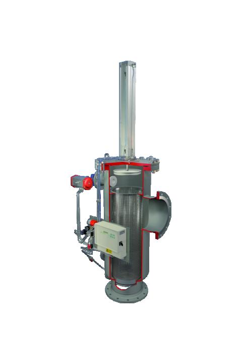 JUDO JISP-ATP DN 65 - 200 Inline-Spaltfilter Za filtriranje krutih voda