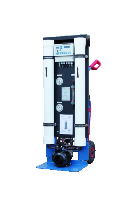 JUDO JMHB-RO pokretno postrojenje za izravno punjenje sustava grijanja desaliniziranom vodom JUDO JMHB-RO Mobile Heizungsbefüllanlage zur Entsalzung
