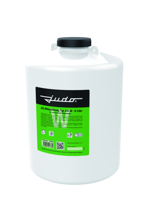 JUDO JUL-W  mineralna otopina za zaštitu od korozije za pocinčane i bakrene cijevi JUDO JUL-W JUL-Minerallösung