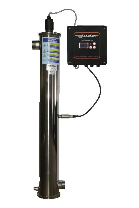 JUDO JUV 10 - 200 GS Sustavi UV dezinfekcije- dezinfekcijska postrojenja za dezinfekciju vode JUDO JUV 10 - 200 GS UV-Entkeimungsanlagen