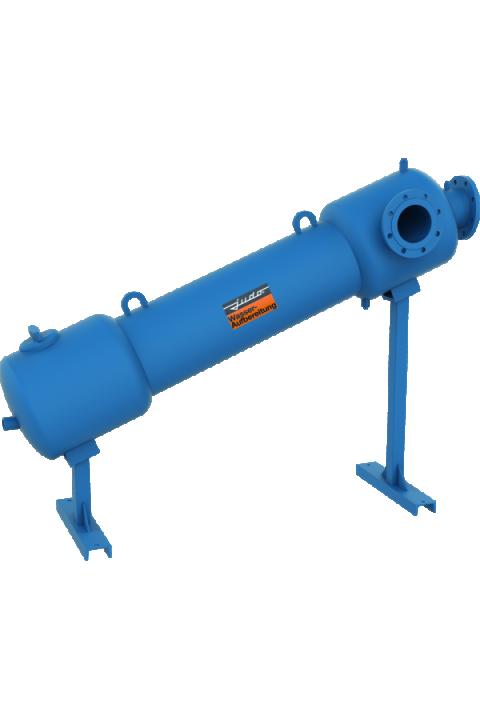 JUDO JZA 100 - 200 centrifugalni separator ZA KRUTE ČESTICE, za vodu do 30 ° JUDO JZA 100 - 200 Zentrifugalabscheider
