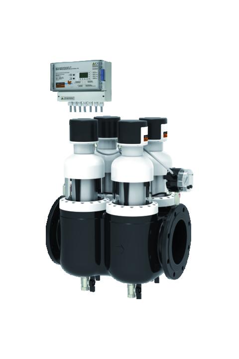 JUDO PROFIMAT-QUICK CONTROL (kontrola vremena i diferencijalnog tlaka) JPF-QC-ATP DN 125 - 200 automatski bespovratni zaštitni filtar za vodu sa ispiranjem