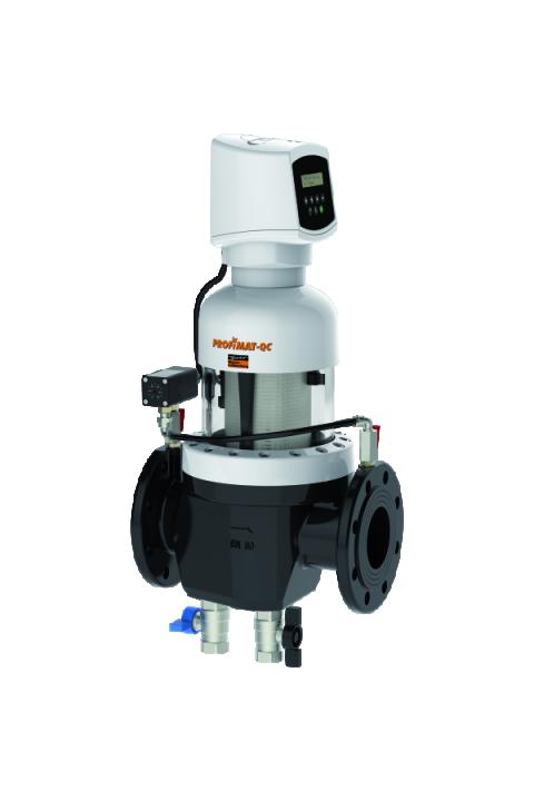 JUDO PROFIMAT-QUICK CONTROL (kontrola vremena i diferencijalnog tlaka) JPF-QC-ATP DN 65 - 100 automatski bespovratni zaštitni filtar za vodu sa ispiranjem