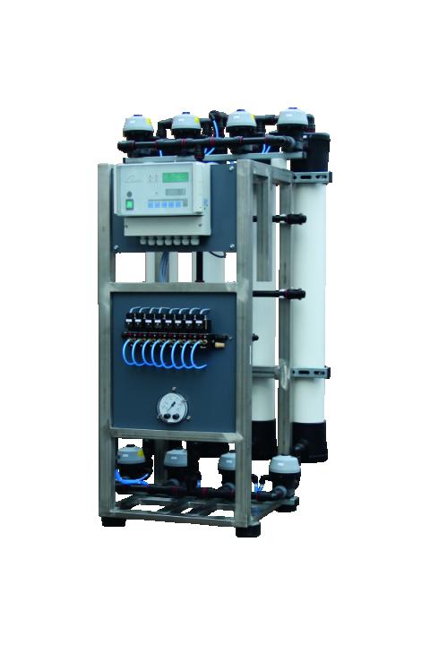 JUDO PURE @ ENTRY 900 i 1800 ultrafiltracijska jedinica za piće i industrijsku vodu do 30 ° C JUDO PURE@ENTRY 900 und 1800 Ultrafiltrationsanlage