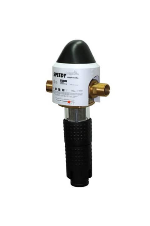 """JUDO SPEEDY-LongLife mehanički nepovratni zaštitni filter vode od čestica pijeska,hrđe...sa ispiranjem Rückspül-Schutzfilter ¾ """"- 2""""SILVER- SREBROM PRESVUČENA MREŽICA FILTERA- ANTIBAKTERIJSKI"""