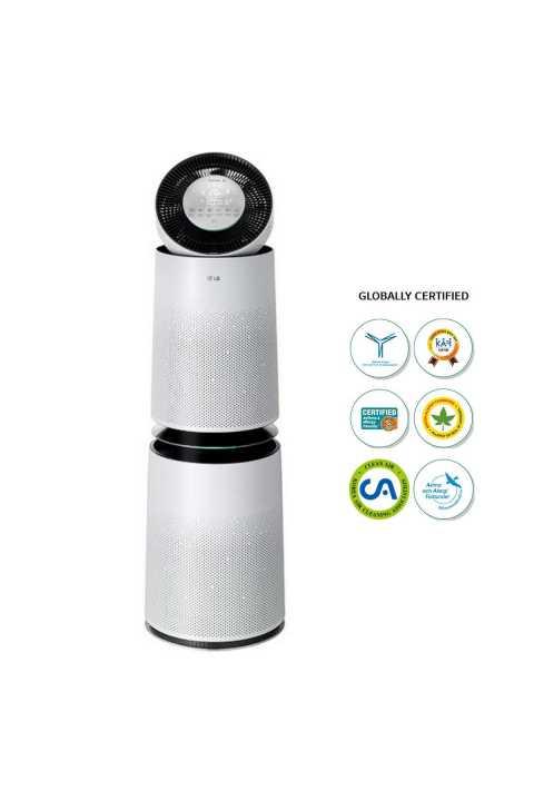 LG AS95GDWV0 Pročišćivač zraka LG PuriCare™, uklanja čestice do 1,0 PM u krugu 360°DUO 91 m2