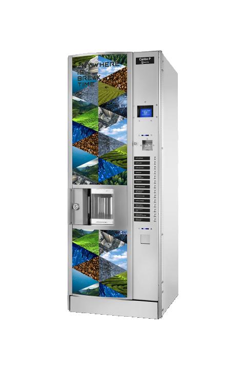 Necta Canto P i Kikko Max samoposlužni aparat velikog kapaciteta kava espresso,čaj i instant napici