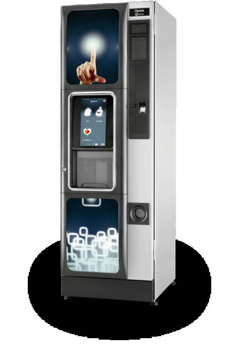 NECTA OPERA TOUCH NA DODIR EKRANA samoposlužni aparat velikog kapaciteta kava espresso,čaj i instant napici