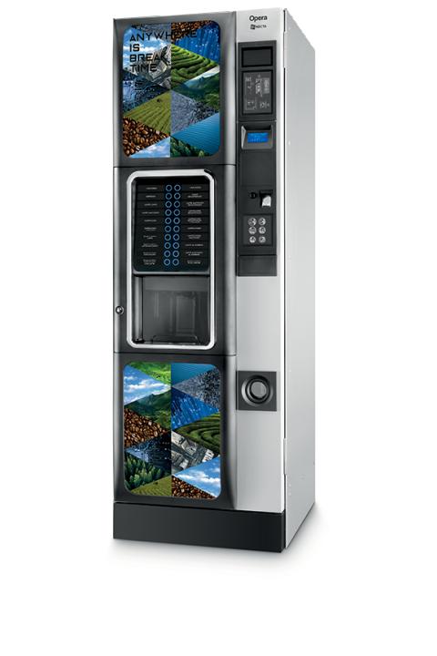 NECTA OPERA ESPRESSO samoposlužni aparat velikog kapaciteta kava espresso,čaj i instant napici