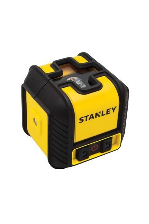 STANLEY CUBIX križno linijski laser-nivelir,12 m crveni klasa 2 i nosač STANLEY® Cubix™ Cross Line Laser Level STHT77498-1