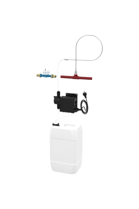 Sustavi pumpi za doziranje pitke i procesne vode  za toplu vodu do 95° C JUDO WADOS-T JWT-H 5 und 10 Dosierpumpenanlagen