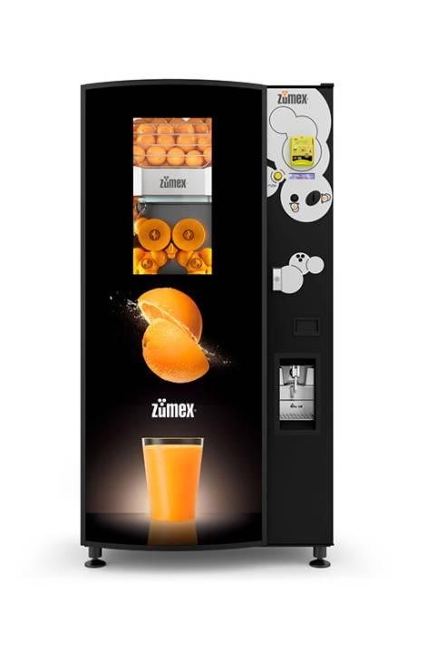 Zumex automat na novac i kartice hladno cijeđena naranča vending machines